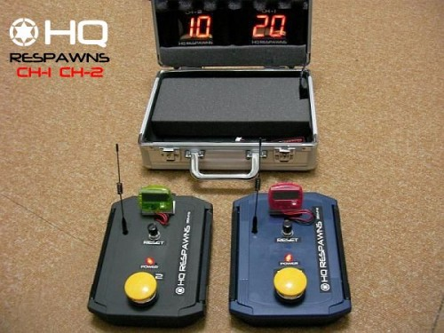 HQリスポンス CH01-CH02 wireless countup system