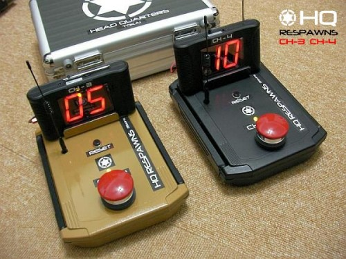 HQリスポンス CH03-CH04 wireless countup system